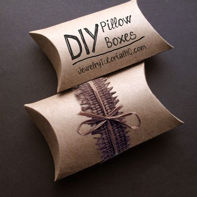 custom pillow style packaging boxes uk
